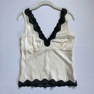 White House Black Market Silk Camisole